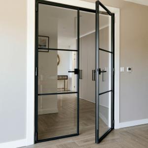 Internal Double Doors <br>Two Bars Design