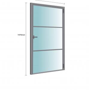 Internal Single Doors <br>Two Bars Design